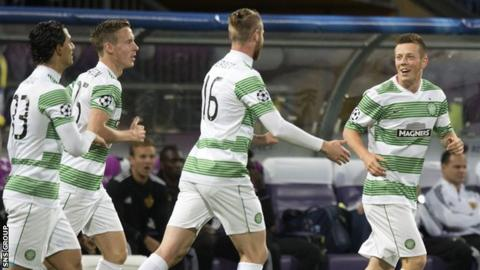 Celtic drew 1-1 in Slovenia last week
