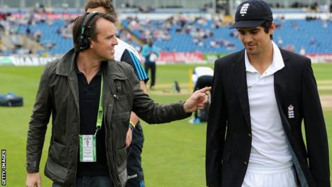Graeme Swann and Alastair Cook