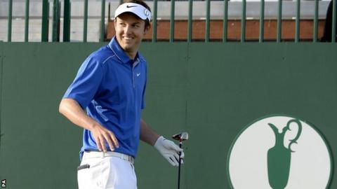 Shropshire amateur Ashley Chesters at The Open, Day One, Royal Liverpool