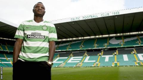 New Celtic arrival Wakaso Mubarak