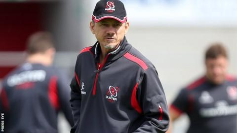Ulster interim director of rugby Les Kiss