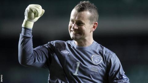 Shay Given retired from Republic duty after the Euro 2012 finals