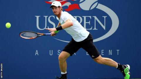 Andy Murray at the US Open 2014