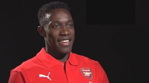 Danny Welbeck 'couldn't be happier' with Arsenal move