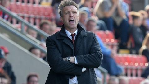 Crewe Alexandra boss Steve Davis