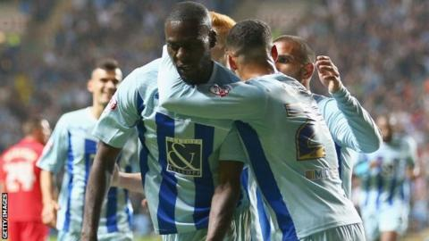 Franck Nouble scores for Coventry