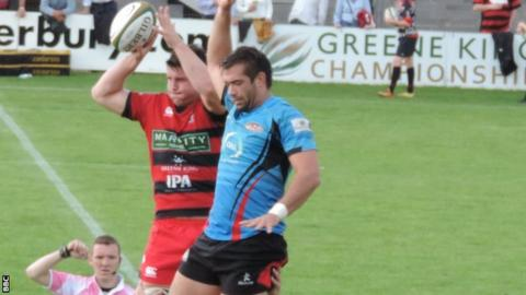 Jersey playing against Moseley