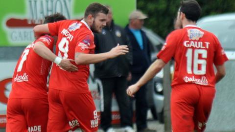 Darren Murray's goal gave Portadown a 1-0 win over Dungannon Swifts at Shamrock Park