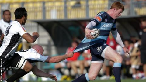 Rhys Patchell strives to break free