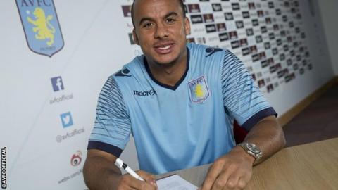 Gabby Agbonlahor signs new Villa contract