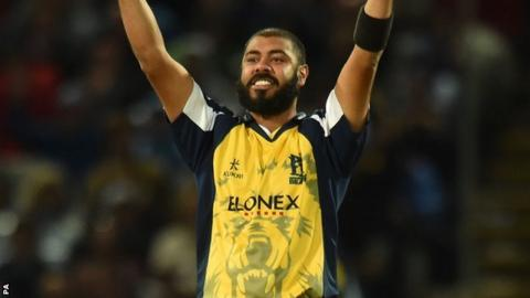 Warwickshire and New Zealand spinner Jeetan Patel