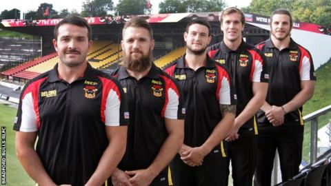 Bradford's five new signings