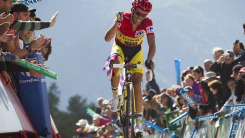 Alberto Contador wins stage 20 of 2014 Vuelta