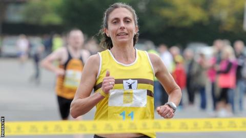 Gladys Ganiel finished 12th in the women's marathon at the Commonwealth Games in July