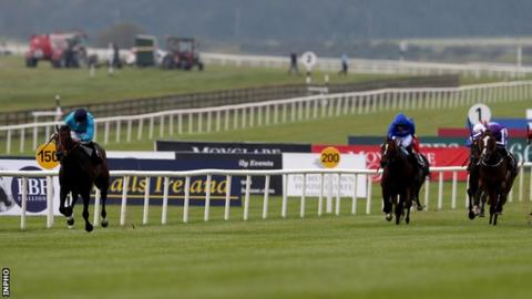 Brown Panther was six lengths clear of favourite Leading Light at the finish