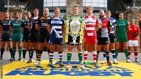 Premiership captains