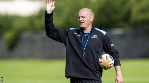 Glasgow head coach Gregor Townsend