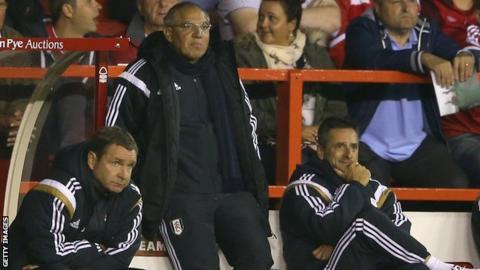 Felix Magath, former Fulham boss