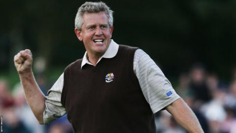 Colin Montgomerie at the 2006 event at the K Club