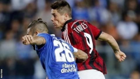 Fernando Torres (right)