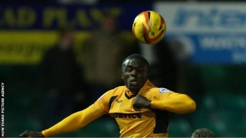 Ismail Yakubu of Newport County