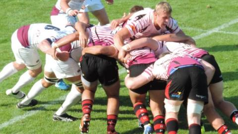 Jersey and Rotherham maul