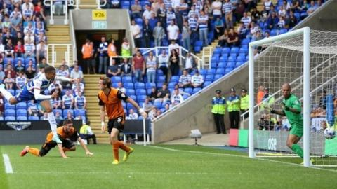 Michael Hector scores for Reading