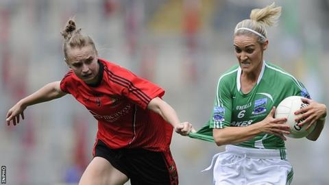 Down's Eimear Kane and Fermanagh's Tara Little