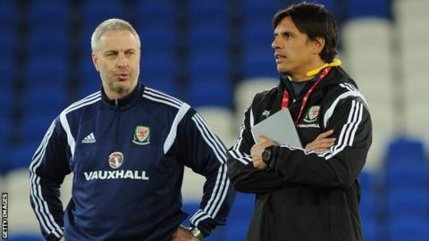 Kit Symons and Chris Coleman