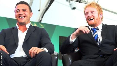 Sam Burgess and James Graham