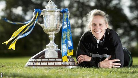 Stirling University manager Shelley Kerr