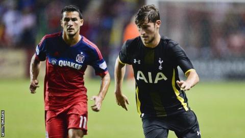 Ben Davies in action for Tottenham