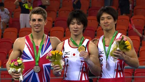 British gymnast Max Whitlock wins silver at in the men's all-around final at the World Gymnastics Championships in Nanning, China