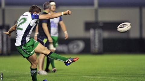 Craig Ronaldson's goal kicks helped Connacht to a 9-6 win over Treviso