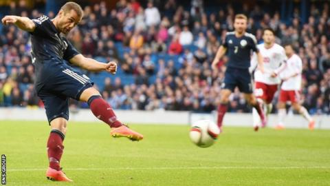 A strike from Shaun Maloney led to the only goal for Scotland
