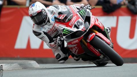 Josh Brookes at this year's Isle of Man TT