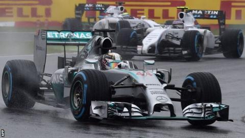Lewis Hamilton at the Japanese GP