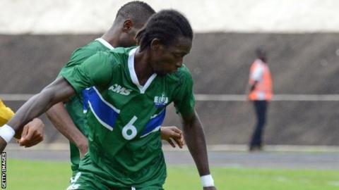 Sierra Leone's John Kamara