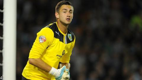 Burnley goalkeeper Alex Cisak