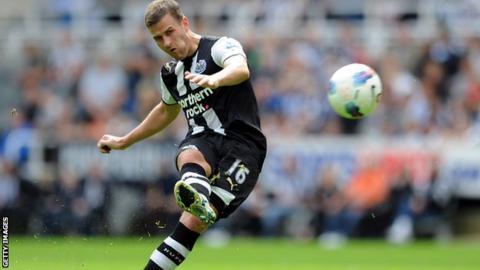 Ryan Taylor, Newcastle United