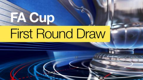 Draw for first round of FA Cup