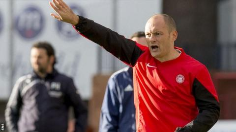 Hamilton manager Alex Neil