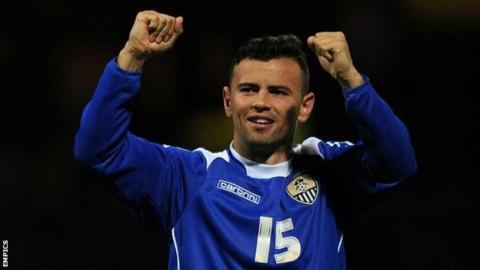 Ismail has scored four goals in 14 appearances for Notts