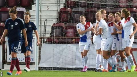Scotland suffered a damaging 2-1 defeat at home to the Netherlands in the play-off first leg