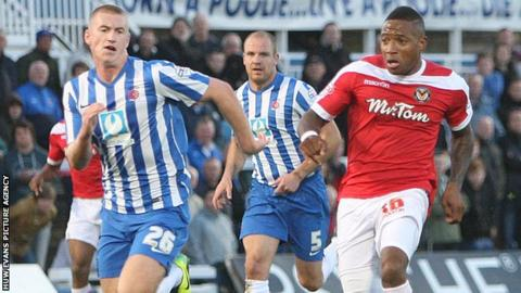 Aaron O'Connor made it 2-0 before Hartlepool fought back.