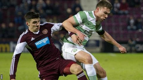 Celtic routed Hearts 7-0 at Tynecastle in the fourth round of the Scottish Cup last season