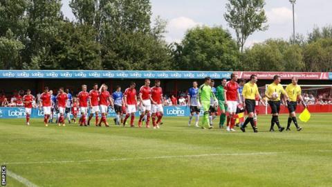 Ilkeston Town v Nottingham Forest