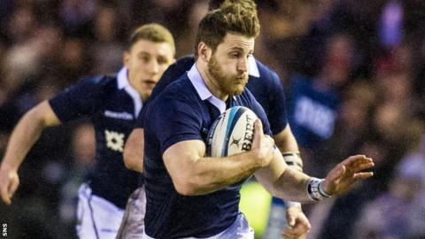 Scotland's Tommy Seymour