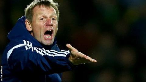 Nottingham Forest manager Stuart Pearce