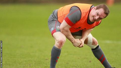 Prop Gethin Jenkins will captain Wales against Fiji on Saturday